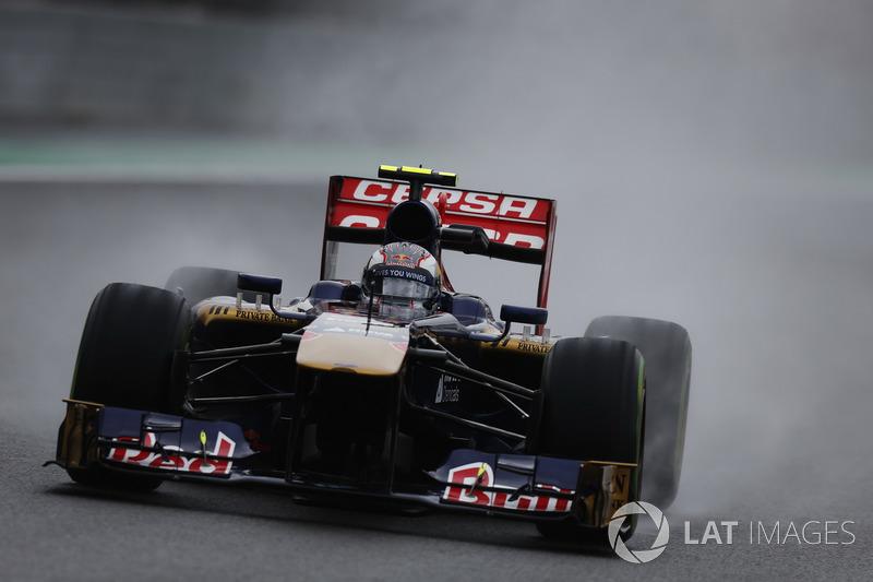 2013: Toro Rosso STR8 Ferrari (одно шестое место, 8-е место в КК)