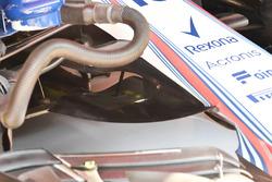 Williams FW41 burun detay