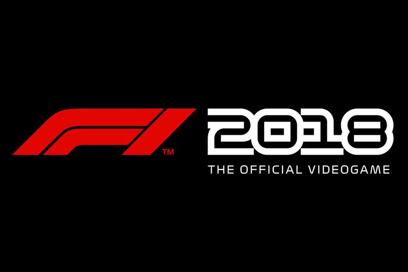 Logotipo del videojuego F1 2018