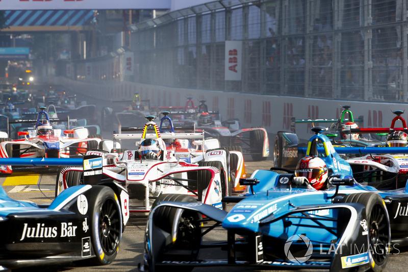 Nicolas Prost, Renault e.Dams, Sébastien Buemi, Renault e.Dams, Jose Maria Lopez, Dragon Racing, Dan