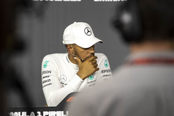 Lewis Hamilton, Mercedes-AMG F1 in the Press Conference