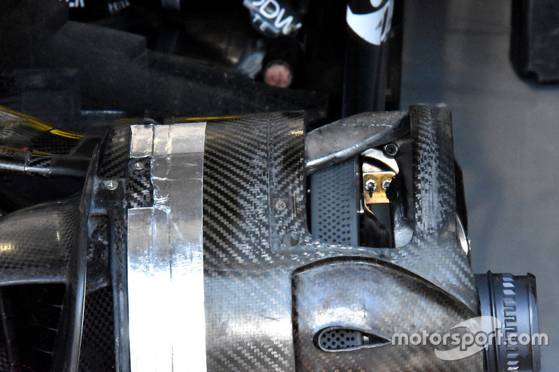 Renault Sport F1 Team R.S. 18 brake detail