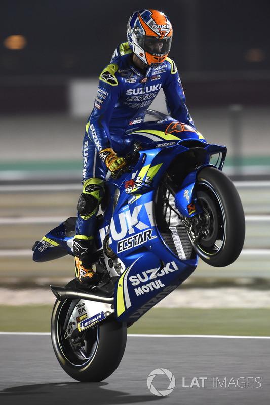 MotoGP Qatar: Alex Rins, Team Suzuki MotoGP