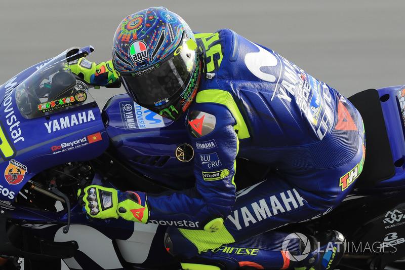 Ensayos de invierno - Valentino Rossi