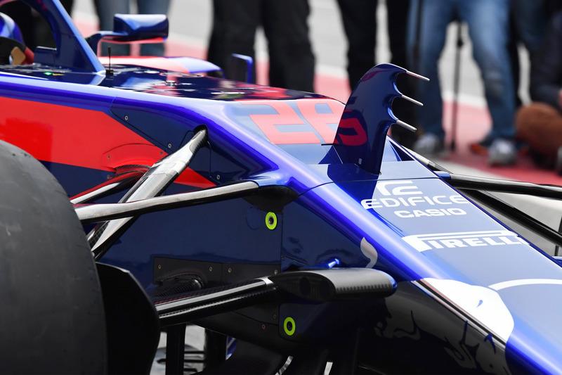 Носовой обтекатель Scuderia Toro Rosso STR13