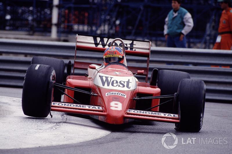 11.Piercarlo Ghinzani, 76 GPs (1981, 1983-1989). Seu melhor resultado é o 5° (Dallas 1984).