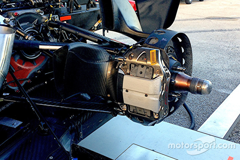 Тормоза на машине IndyCar