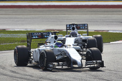 Felipe Massa, Williams FW36 Mercedes ve Valtteri Bottas, Williams FW36 Mercedes