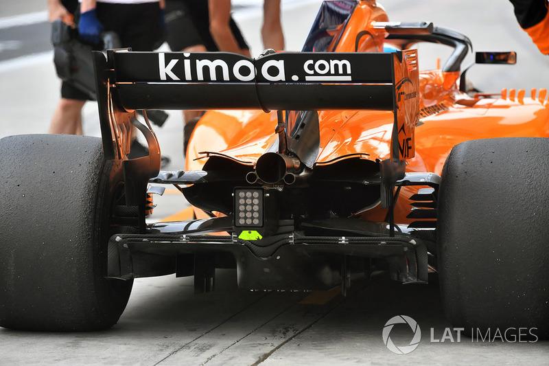 Fernando Alonso, McLaren MCL33 rear