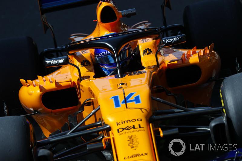 7. Fernando Alonso, McLaren MCL33