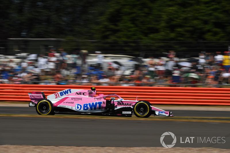 17º Esteban Ocon, Force India VJM11 (481 vueltas)