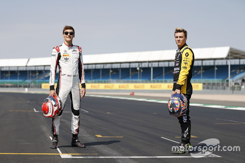 George Russell, ART Grand Prix e Artem Markelov, RUSSIAN TIME
