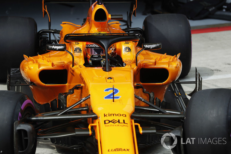 15: Stoffel Vandoorne, McLaren MCL33, 1'05.271