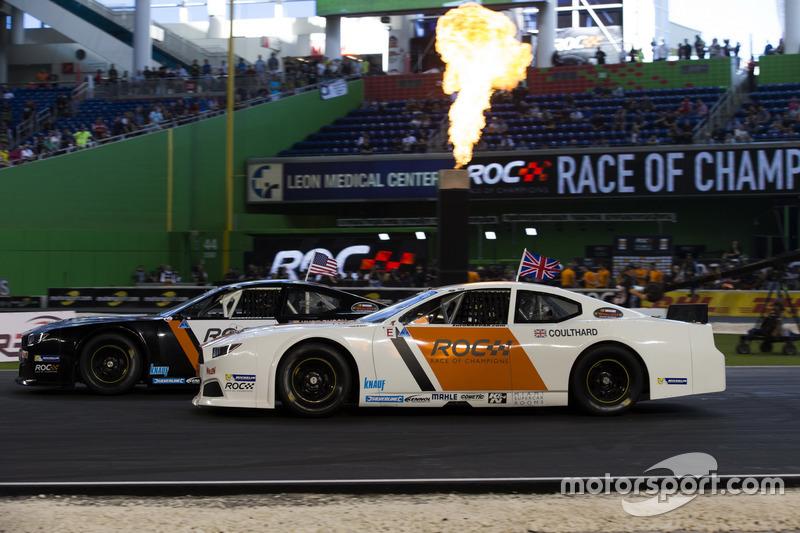 David Coulthard, compite con Kurt Busch en el Whelen NASCAR