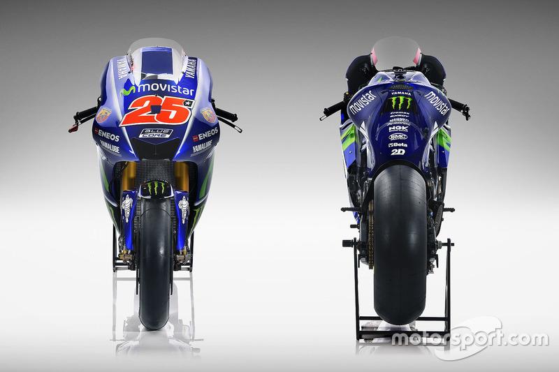 Neue Bikes von Maverick Viñales, Yamaha Factory Racing