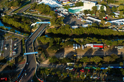 A scenic view of the Townsville street circuit