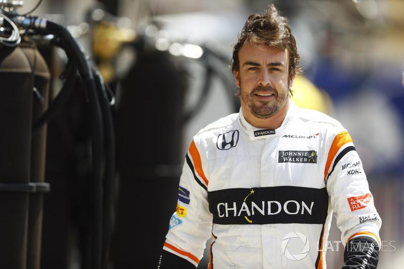 3-е место: Фернандо Алонсо, Формула 1