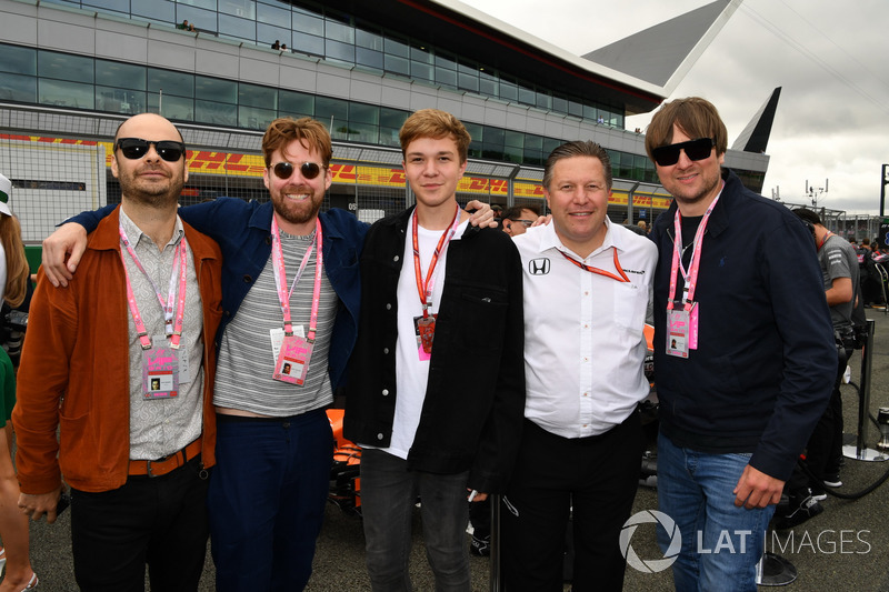 Кайзер Чіф, виконавчий директор McLaren Зак Браун
