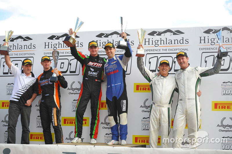 Podium: race winners1. Craig Baird, Michael Almond, 2. Tony Quinn, Greg Murphy, 3. George Miedecke,