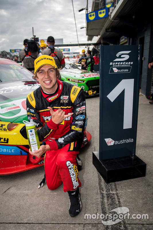 Race winner Chaz Mostert, Rod Nash Racing Ford