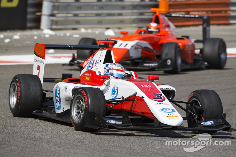 Alexander Albon, ART Grand Prix y Jack Aitken, Arden International