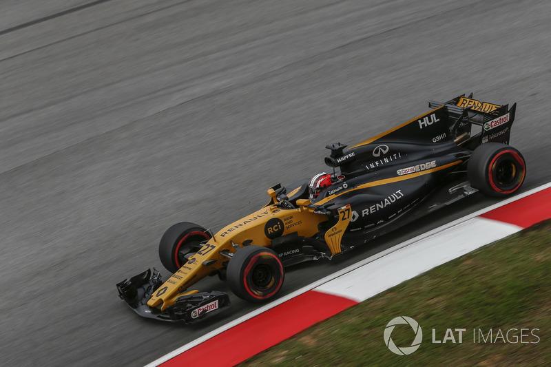 Nico Hulkemberg tem como melhor resultado dois sextos lugares, em 2013 e 2015. O piloto alemão abandonou uma vez