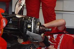 Ferrari SF70H: Hinterrad-Bremse