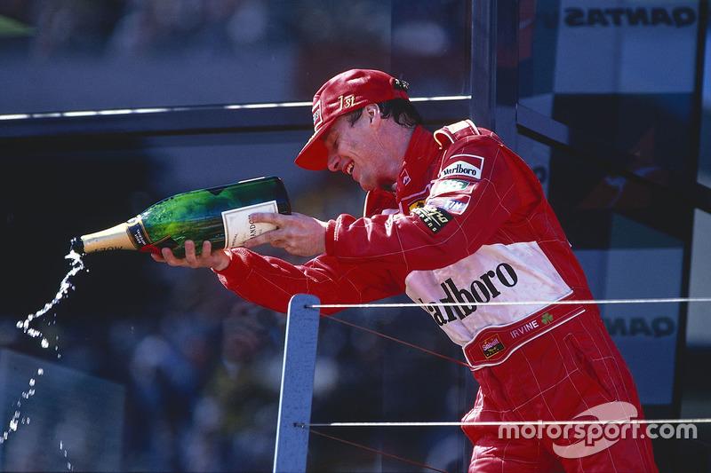 10. Эдди Ирвайн, Гран При Австралии 1999 (82-я гонка)