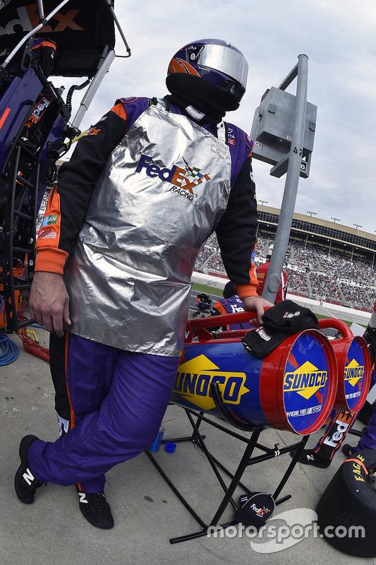 Crew von Denny Hamlin, Joe Gibbs Racing, Toyota