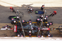 Пит-стоп: Ромен Грожан, Haas F1 VF-17