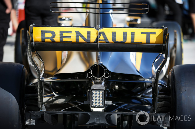 Заднє антикрило Renault Sport F1 Team RS17