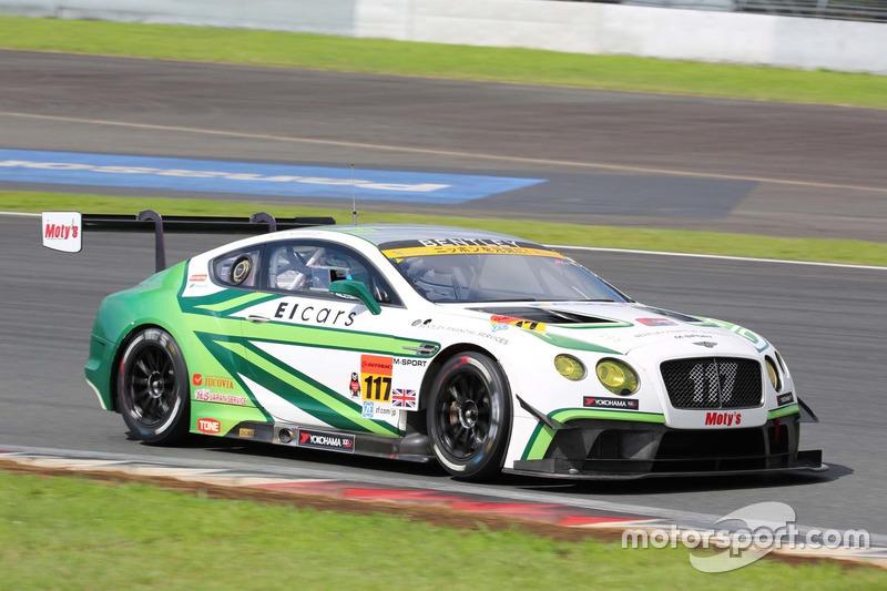 #117 EIcars BENTLEY GT3