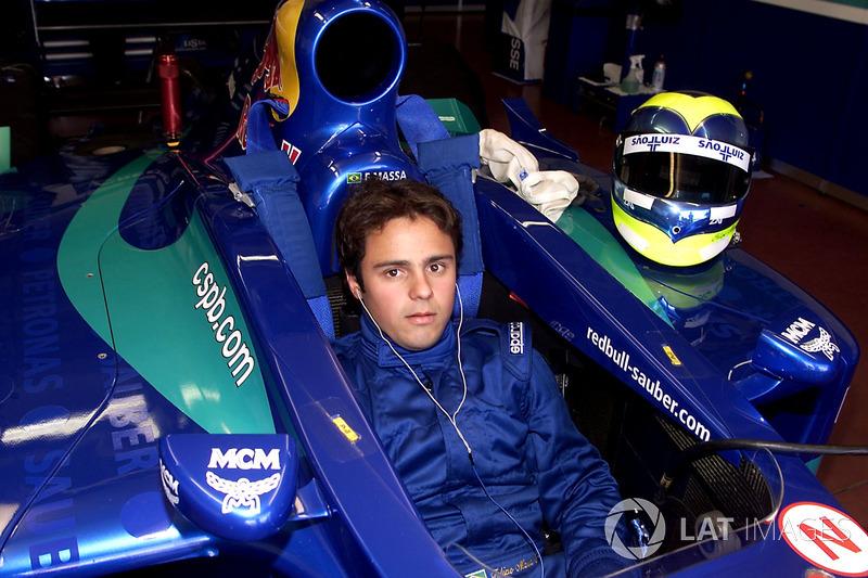Сентябрь 2001: Фелипе Масса. Тесты в Муджелло с Sauber