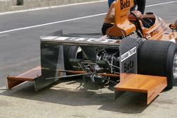 Vittorio Brambilla, March 751 Ford rear wing extensions