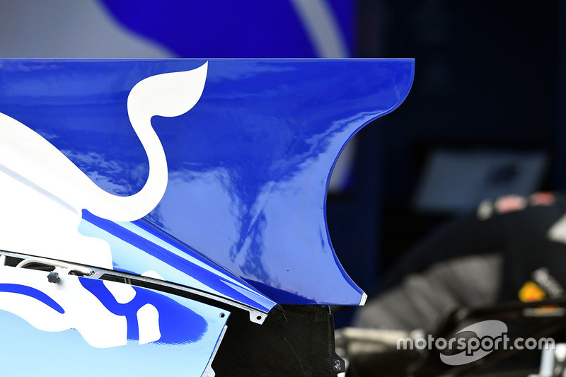 Scuderia Toro Rosso STR12 bodywork detail