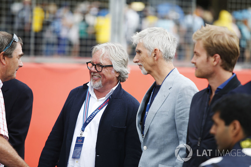 Nigel Mansell, Riccardo Patrese, Keke Rosberg, Damon Hill, Nico Rosberg