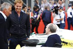 Riccardo Patrese, Nico Rosberg, Sir Frank Williams