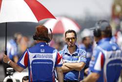 Sébastien Bourdais, Dale Coyne Racing Honda, Ed Jones, Dale Coyne Racing Honda crew