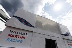 El área de hospitalidad de Williams