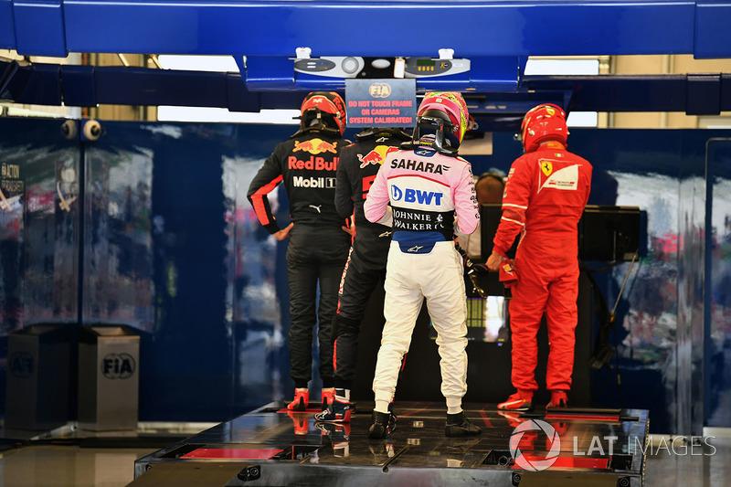 Даніель Ріккардо, Red Bull Racing, Серхіо Перес, Sahara Force India, Кімі Райкконен, Ferrari