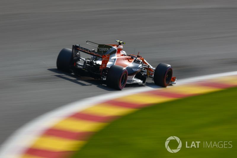 20: Stoffel Vandoorne, McLaren MCL32