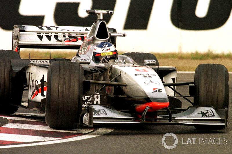 1998: Mika Hakkinen (McLaren-Mercedes MP4/13)