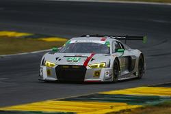 #23 Alex Job Racing Audi R8 LMS GT3: Білл Свідлер, Таунсенд Белл, Френкі Монтекалво