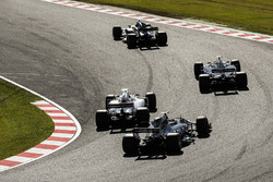 Nico Hulkenberg, Renault Sport F1 Team RS17, Kevin Magnussen, Haas F1 Team VF-17, Lance Stroll, Will