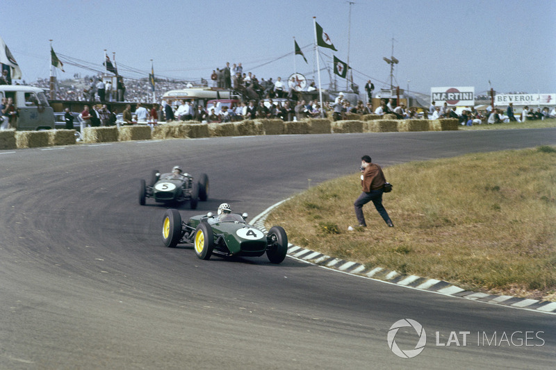 Innes Ireland, Lotus 18 Climax ve Alan Stacey, Lotus 18 Climax