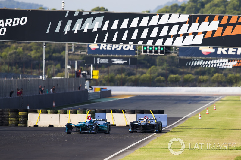 Luca Filippi, NIO Formula E Team, Jerome D'Ambrosio, Dragon Racing