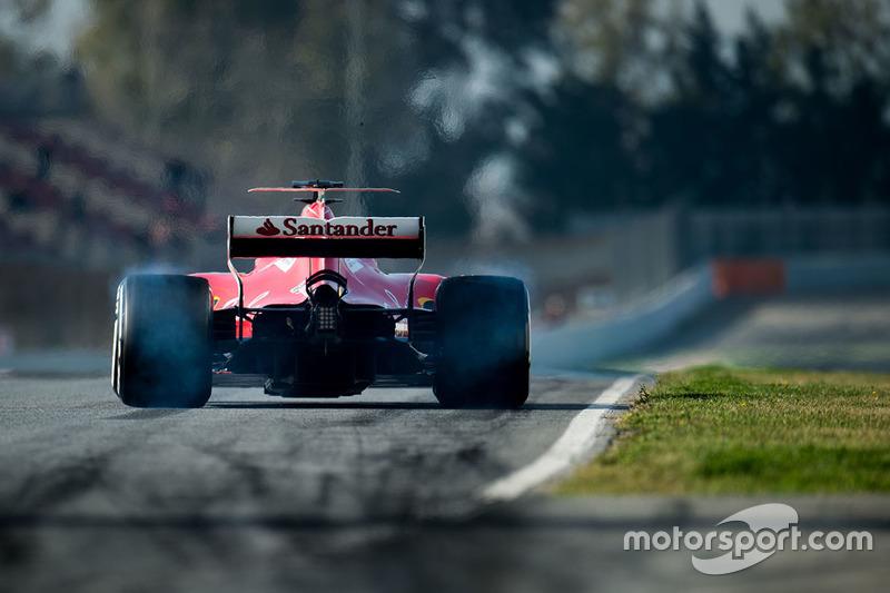 Jueves: Sebastian Vettel, Ferrari SF70H