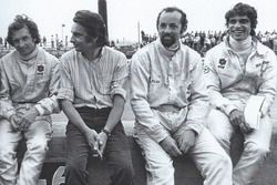 Jean-Pierre Beltoise, Johhny Rives, Henri Pescarolo e François Cevert