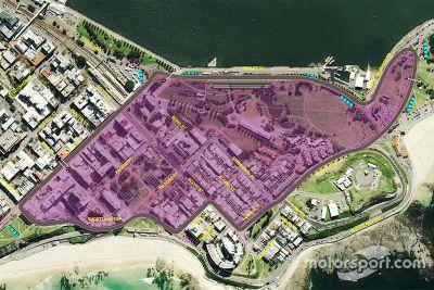 Newcastle circuit unveil