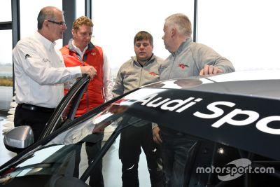 Auslieferung Audi RS3 LMS